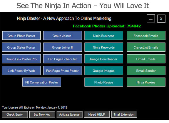 Ninja Blaster Software Free Download