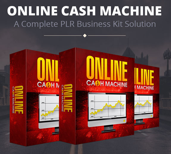 PLR Online Cash Machine Review Create By Ian Del Carmen