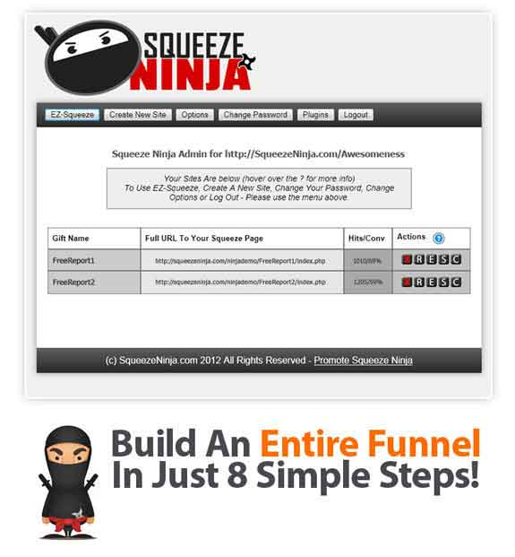 Squeeze Ninja Software FREE DOWNLOAD By Elina Law