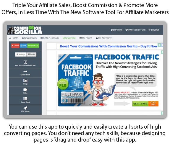 Download FREE Commission Gorilla Software 100% WORKING!!!