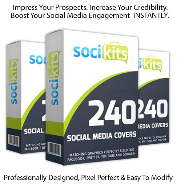 Download SociKits Social Media Template FULL License