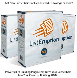 GET List Eruption V2 Plugin NULLED 100% Working!!
