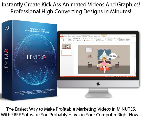 Download Levidio Vol 3 Explainer Video Template