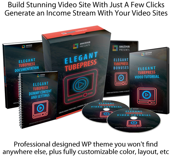 Download Now Elegant TubePress Theme NULLED By Tantan Hilyatana