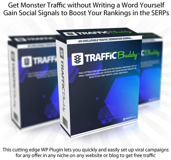 Download Now Traffic Buddy Plugin WITH UNLIMITED LICENSE!