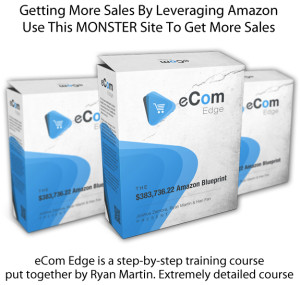 Download Now eCom Edge Blueprint By Ryan Martin FULL Training