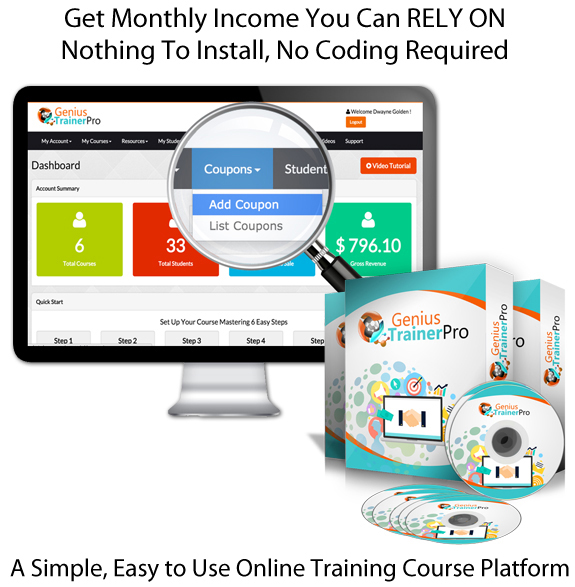 Genius Trainer Pro Enterprise 100% INSTANT ACCESS