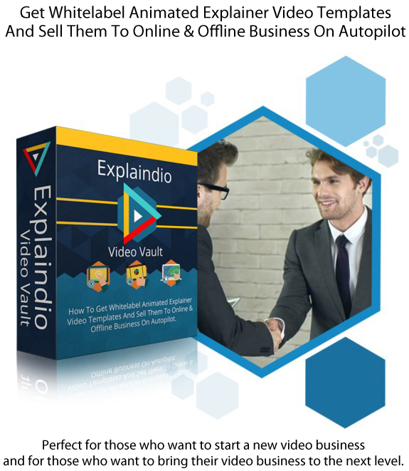 INSTANT ACCESS Explaindio Video Vault Membership