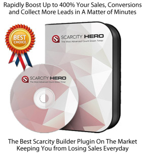 You Can Download Scarcity Hero Plugin NULLED 100% Working!!