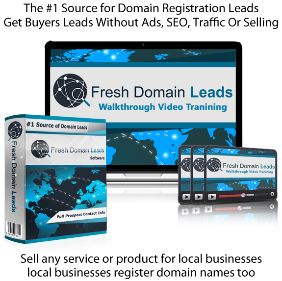 LIFETIME ACCESS! Fresh Domain Leads Software Platinum