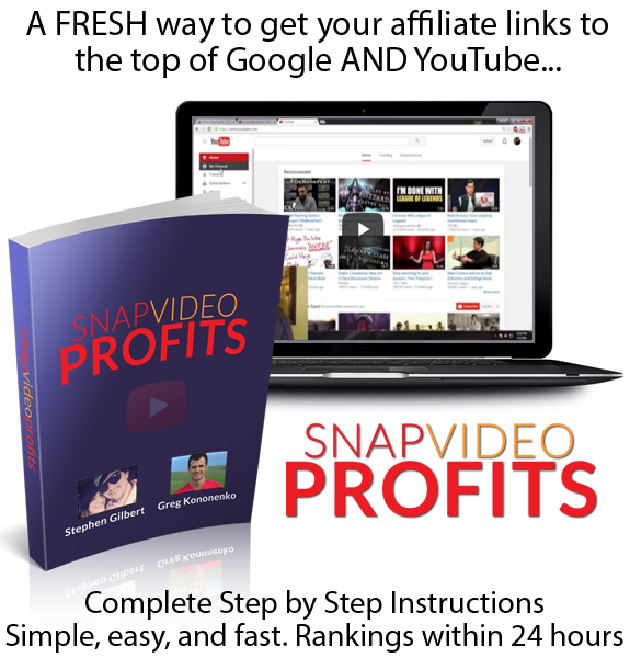 Snap Video Profits READY To DOWNLOAD COMPLETE Training