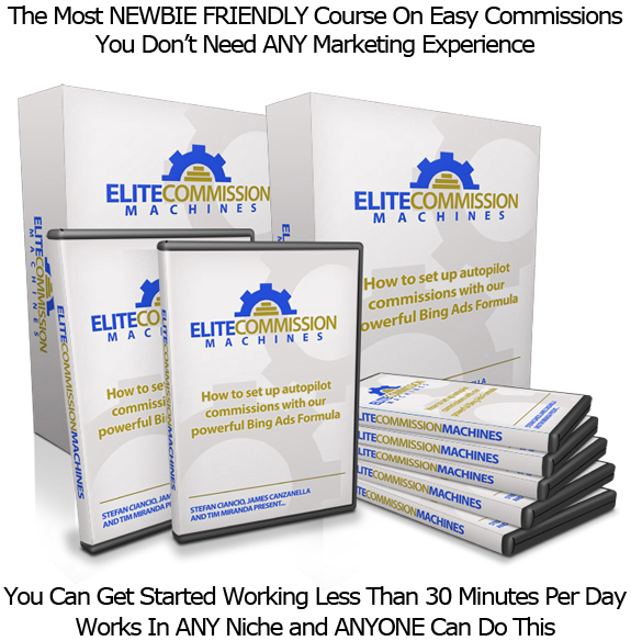 Elite Commission Machines UNLIMITED ACCESS! Training Videos