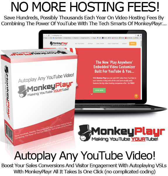 Monkey Playr Early Adopter LIFETIME ACCESS Forever UNLIMITED