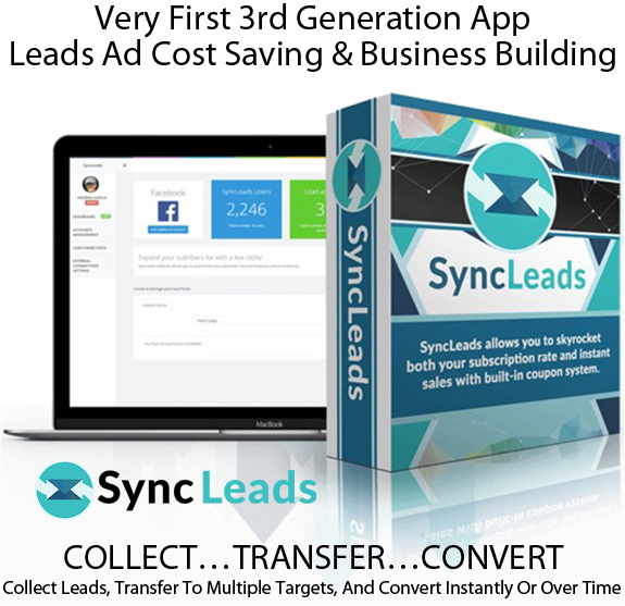 Sync Leads Software UNLIMITED ACCESS! For Unlimited FB Accounts