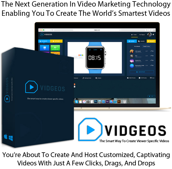 Vidgeos App Software READY TO USE! Lifetime With Developer Rights
