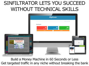 Download Sinfiltrator Software Unlimited License LIFETIME ACCESS!