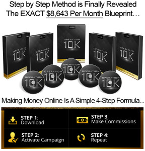 Operation 10K INSTANT DOWNLOAD Lifetime Access Created By Desmond Ong