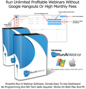 Run A Webinar Software By Sam Bakker PRO Complete Features