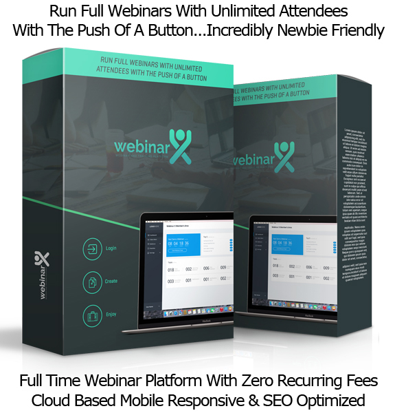 Webinar X Software UNLIMITED LICENSE FULL ACCESS By Neil Napier