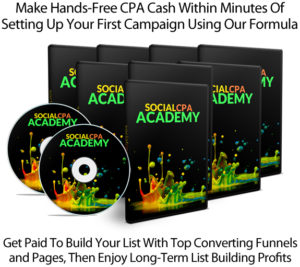 Social CPA Academy Super Powerful Deadly Effective FULL ACCESS