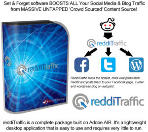 ReddiTraffic Software CRACKED Lifetime Access! Unlimited