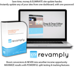 Revamply Software Duplicate ANY Website in Minutes Lifetime Access