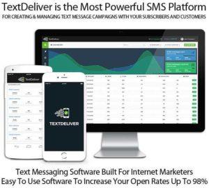 TextDeliver SMS Autoresponder APP Lifetime Account