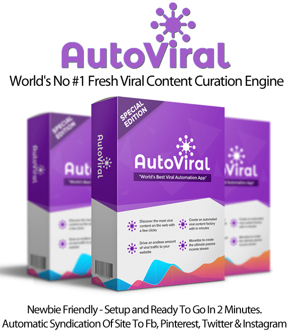 AutoViral Agency License Viral Content Generation Instant Download