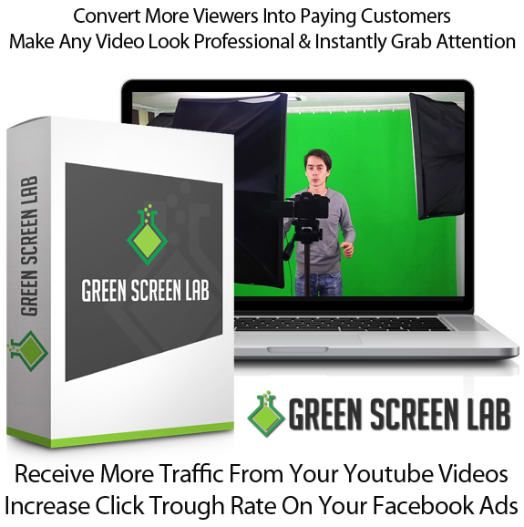 Green Screen Lab Personal Use Full Access By Ionut Macovei