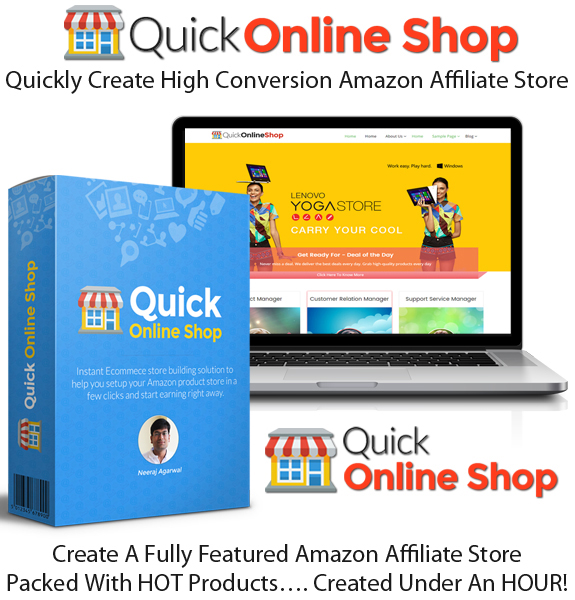 Quick Online Shop Builder Theme Professional Instant Access
