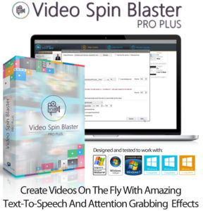 Video Spin Blaster Pro 2.0 Multi License Instant Download
