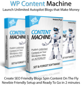 WP Content Machine Professional Lifetime Access Newbie-Friendly