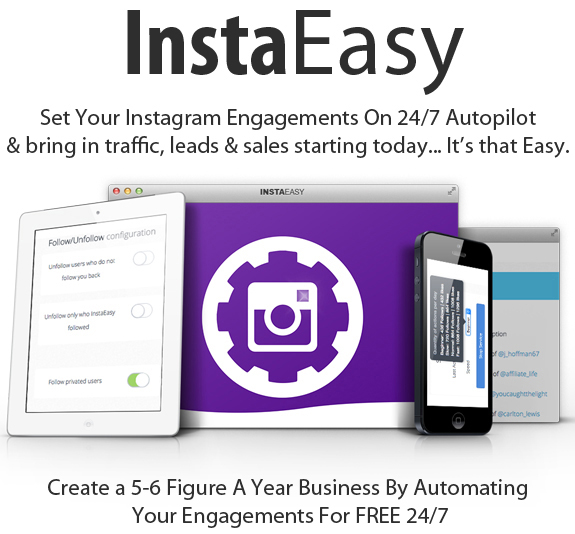 Instaeasy Software Yearly Full Access By Luke Maguire