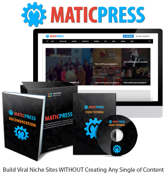 MaticPress Theme Pro License Direct Download By Tantan Hilyatana