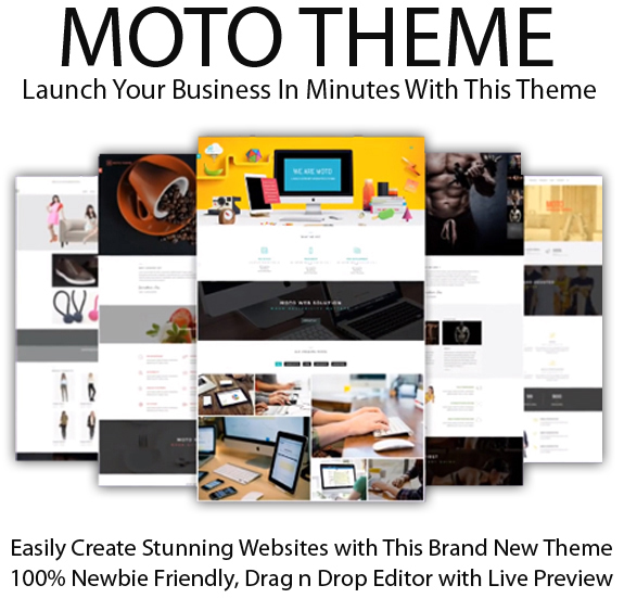Moto Theme With Image Bundle Lifetime Access By Tantan Hilyatana