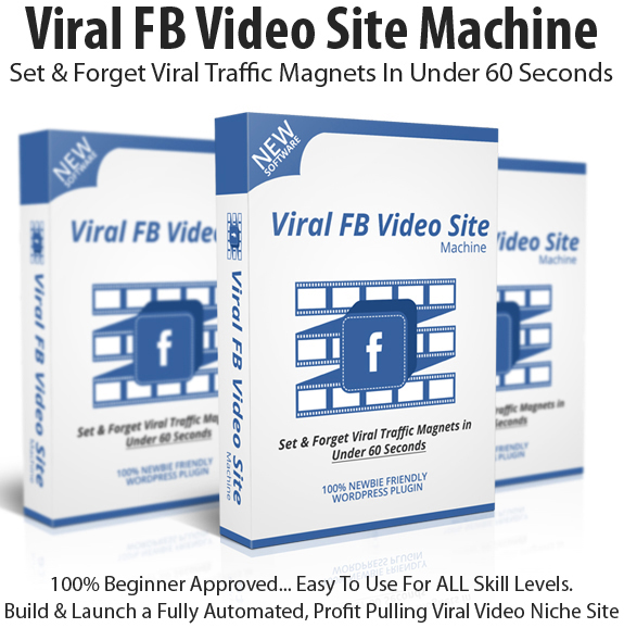 Viral FB Video Site Machine Personal License Instant Download