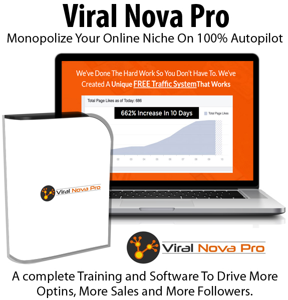 Viral Nova Pro Membership Lifetime Access By Jon Bowtell