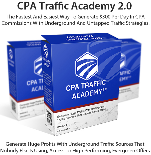 Free Download CPA Traffic Academy 2.0 By Marcus. C