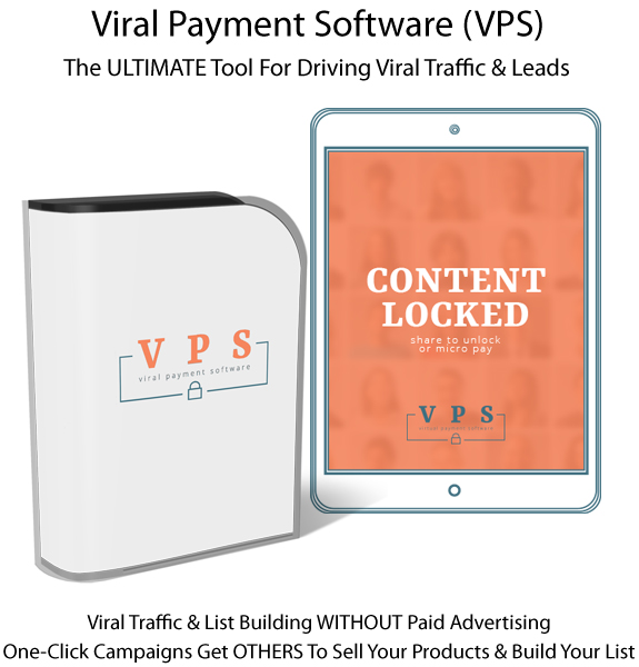 Viral Payment Software (VPS) 100% Lifetime Access