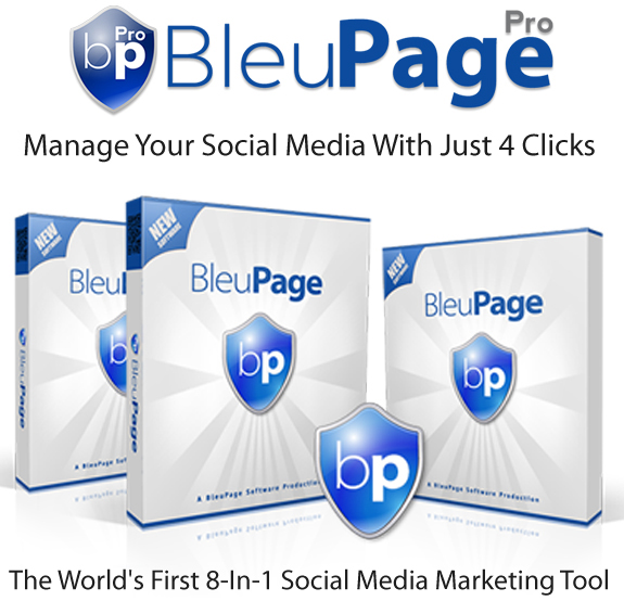 BleuPage Pro App By Lance Robinson Instant Download