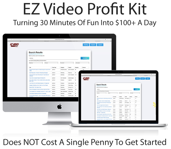EZ Video Profit Kit Reseller Instant Download By Howard Lynch