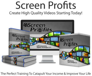 Screen Profits Pro By Jeff Caravantes Instant Download