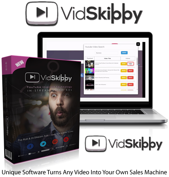 Vidskippy Software Pro Instant Download By Mark Bishop