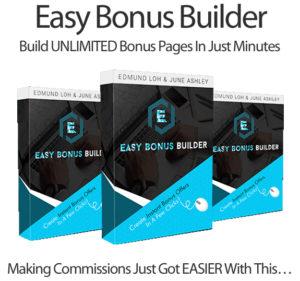 Easy Bonus Builder Pro By June Ashley Instant Download