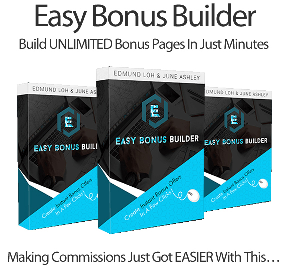 Easy Bonus Builder Pro By June Ashley Instant Download