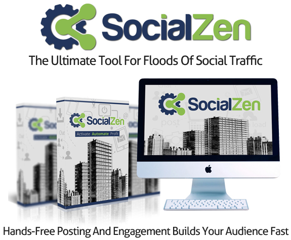 SocialZen Software Unlimited By OJ James Instant Download