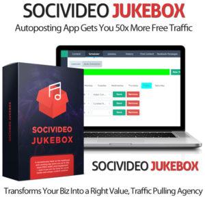 SociVideo Jukebox App By Ben Murray Instant Download
