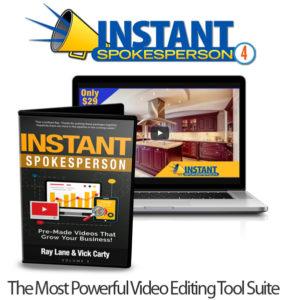 Instant Spokesperson 4 Mega Bundle Free Download By Ray Lane