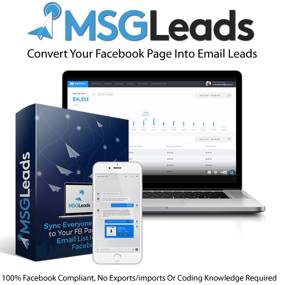 MSGLeads Software Unlimited Instant Download By Brad Stephens