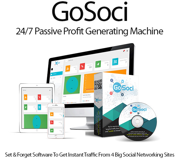 GoSoci Software Pro Pack 100% Instant Download By firelaunchers